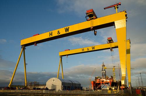 Gantry crane / Par IHNIWIMD / Licence CreativeCommons BY-NC-SA