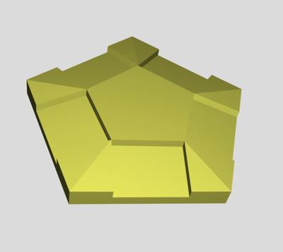 Connecteur Pentagonal