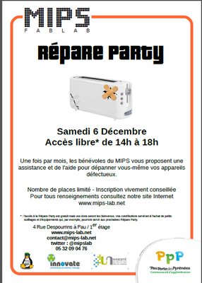 Repare Party - 6 dec 2014