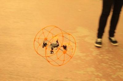Mini quadcopter protégé