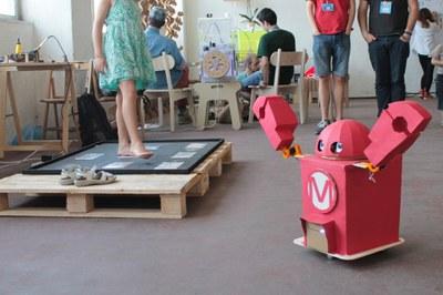 Robot acceuil Bilbao