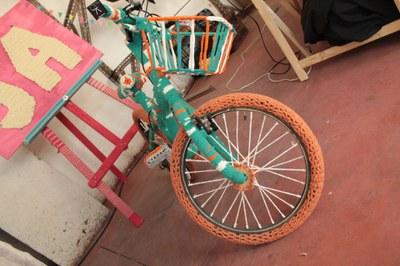 vélo en laine